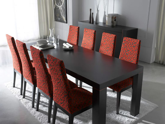 Amazing of Red Upholstered Dining Room Chairs 33 Upholstered Dining Room Chairs Ultimate Home Ideas