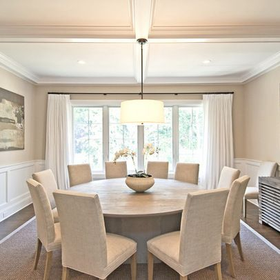 Amazing of Round Dining Room Tables Best 25 Large Round Dining Table Ideas On Pinterest Round
