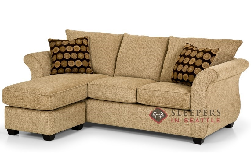 Amazing of Sectional Sleeper Sofa With Chaise Catchy Chaise Sofa Sleeper Leather Interiorvues Small Sectional