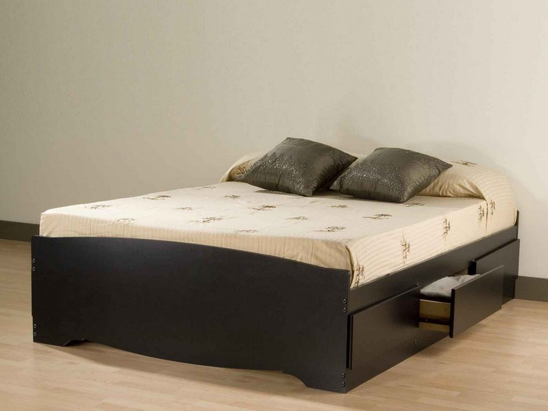 Amazing of Simple Queen Size Bed Frame Simple Queen Size Platform Bed With Storage Modern Storage Twin