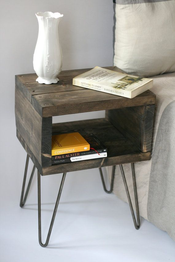 Amazing of Small Bedroom End Tables Best 25 Handmade Bedside Tables Ideas On Pinterest Diy