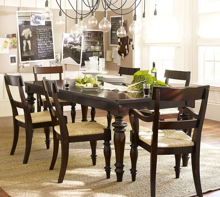 Amazing of Small Dark Wood Dining Table 164 Best Dining Room Images On Pinterest Dining Rooms Dining
