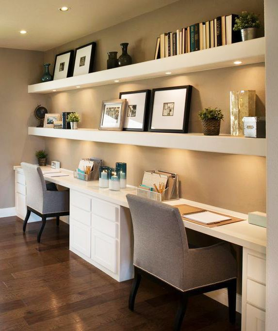 Amazing of Small Home Office Desk Ideas Best 25 Built In Desk Ideas On Pinterest Small Home Office Desk