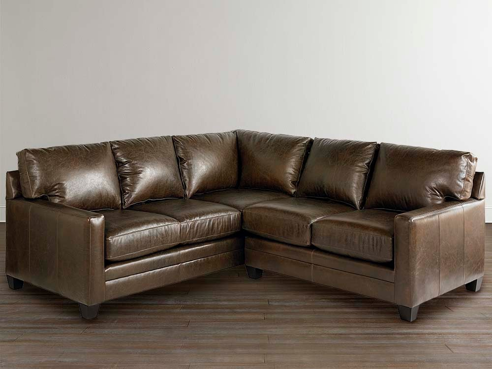 Amazing of Small Leather Sectional Couch L Shaped Leather Couch Ideas Youtube