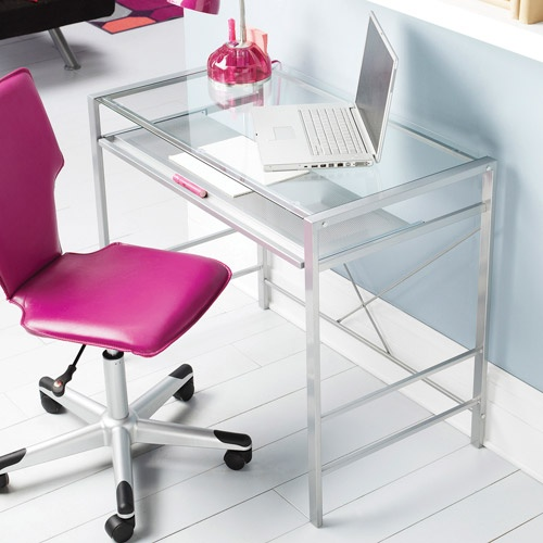 Amazing of Small Office Desk And Chair Best 25 Glass Top Desk Ideas On Pinterest Milk Paint Home Depot