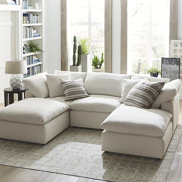 Amazing of Small Sectional Sofa With Chaise Envelop Small Double Chaise Sectional