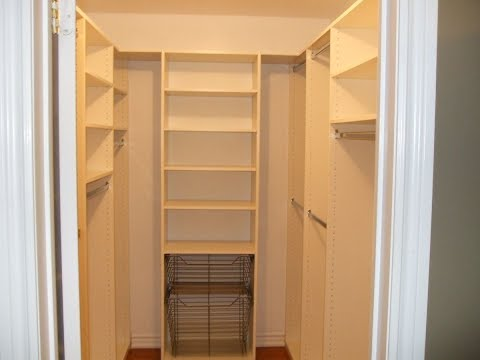 Amazing of Small Walk In Closet Design Small Walk In Closets Designs Youtube