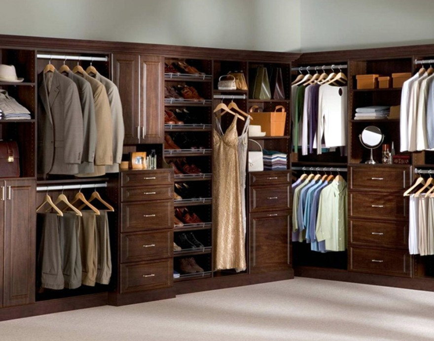 Amazing of Small Walk In Closet Organization Ideas Closet Organizer Ideas For Small Walk In Closets Steveb Interior