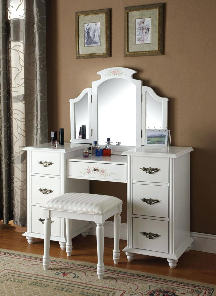 Amazing of Small White Bedroom Vanity Vanities Small White Vanity Table With Mirror Cheap Black