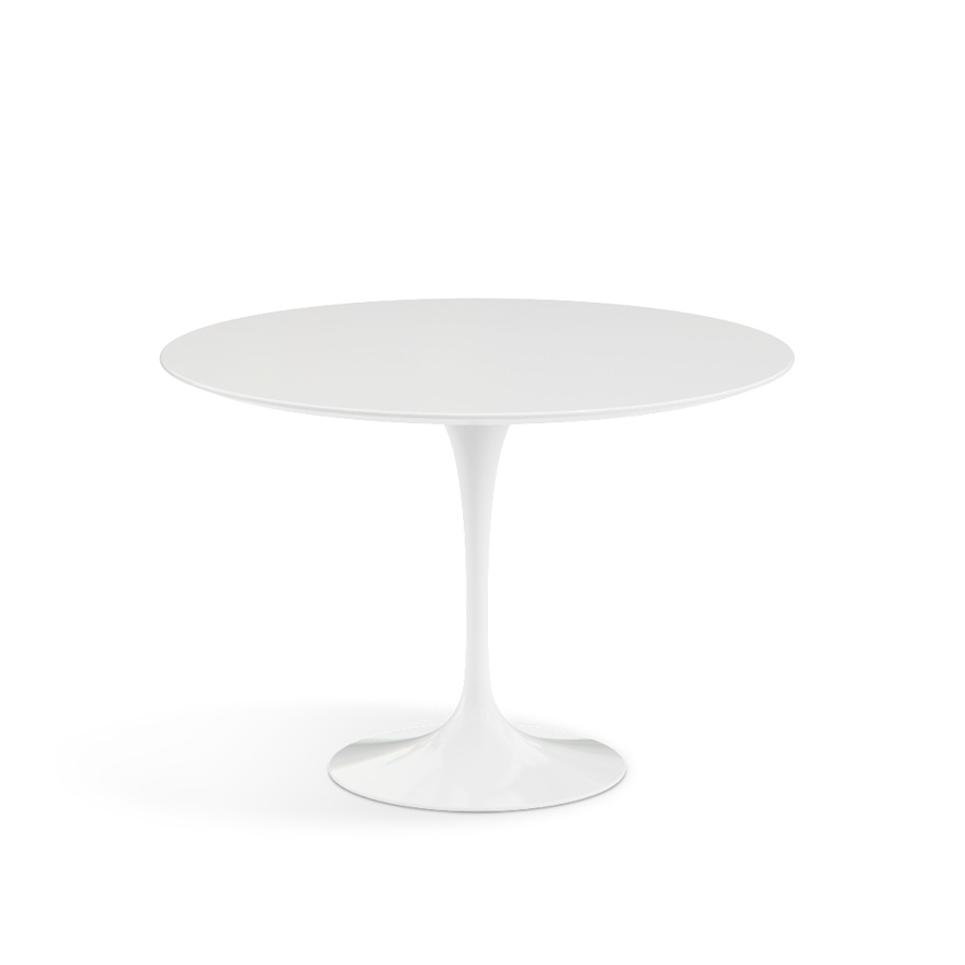 Amazing of Small White Round Dining Table Saarinen Dining Table 42 Round Knoll