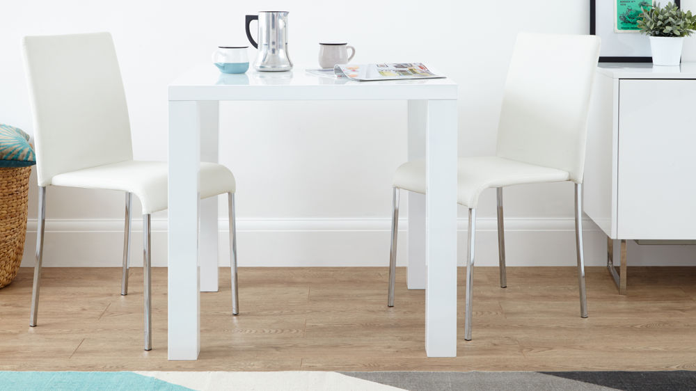 Amazing of Square White Dining Table Small White Dining Table Insurserviceonline