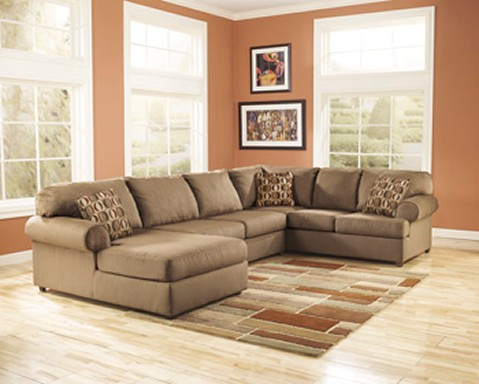 Amazing of Tan Leather Sectional With Chaise 81567581scaled479x384
