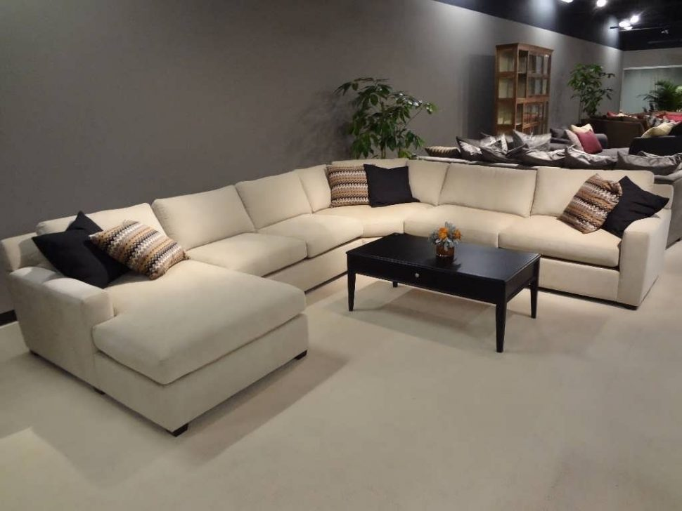 Amazing of U Shaped Sectional Sleeper Sofa Sofa Large U Shaped Sofa Chaise Sofa Reclining Sectional U