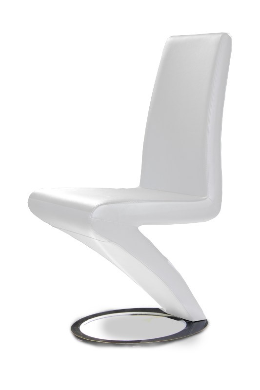 Amazing of White Dining Chairs Modern White Dining Chair Set Of 2