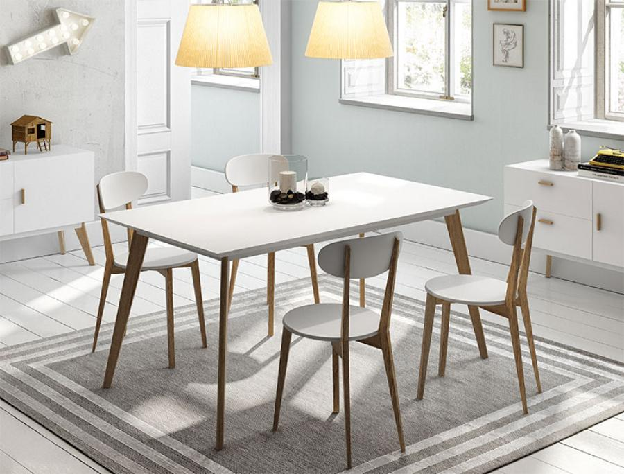Amazing of White Dining Table Modern White Top Dining Table Table Designs