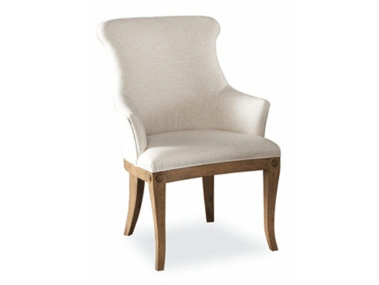 Amazing of White Fabric Dining Chairs Furniture White Fabric Dining Chairs With Arms Having Curvy