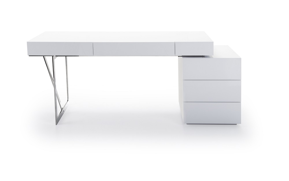 Amazing of White Office Desk White Contemporary Office Desk With Storage Oakland California Jm Lof