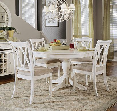 Amazing of White Round Kitchen Table Best 25 White Round Dining Table Ideas On Pinterest Farmhouse