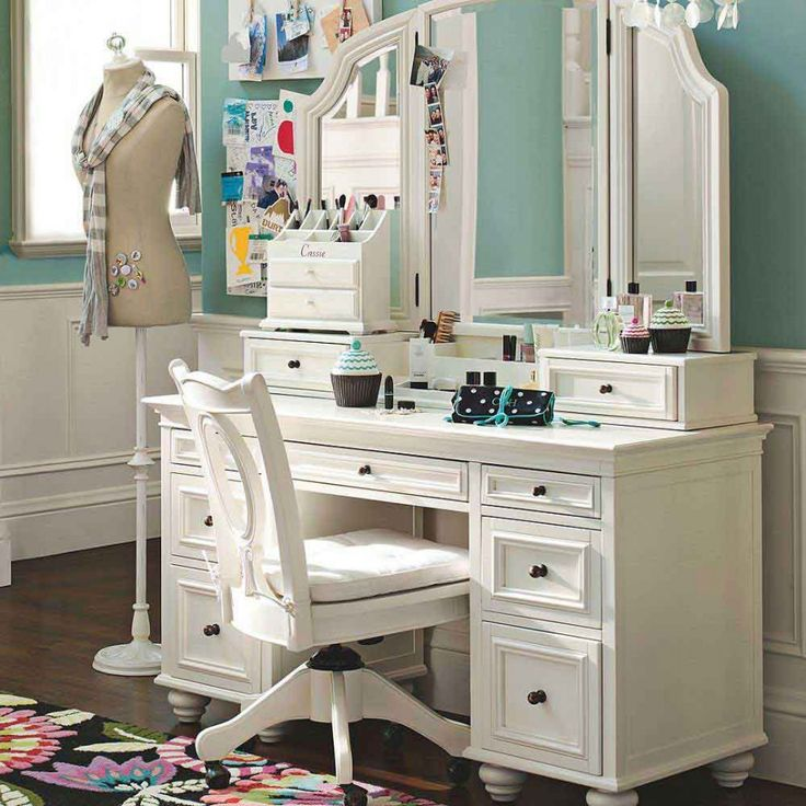 Amazing of White Vanity Desk With Mirror Best 25 Dressing Tables With Mirror Ideas On Pinterest Vanity