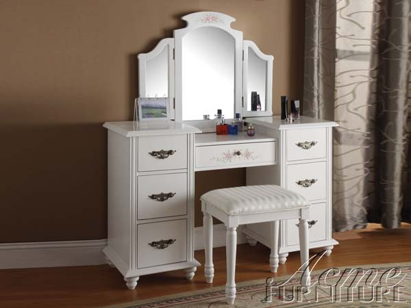 Amazing of White Vanity With Mirror Ideal Mirror Vanity Table Boundless Table Ideas