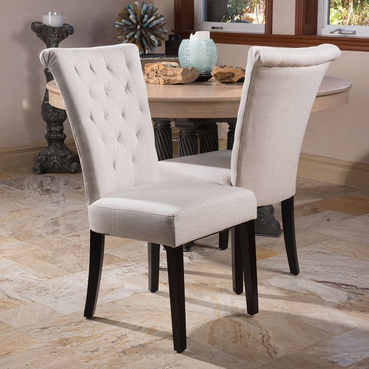 Amazing of Wood And Fabric Dining Chairs Best 25 Fabric Dining Room Chairs Ideas On Pinterest