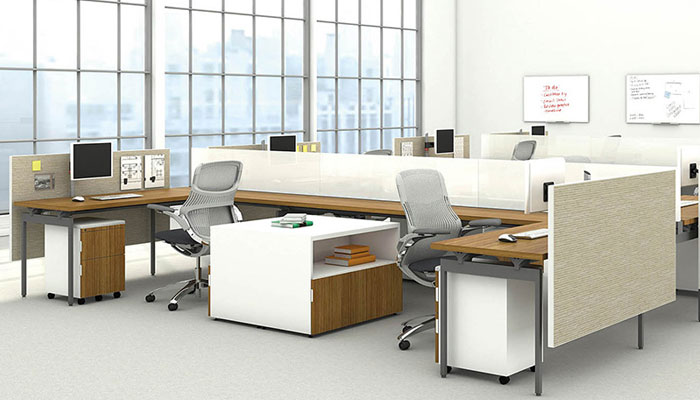 Amazing Office Desk Configurations Antenna Workspaces Knoll