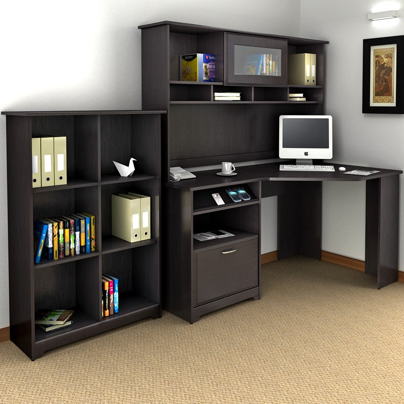 Amazing Office Desk With Bookcase 24 Excellent Bookcases With Computer Desk Yvotube