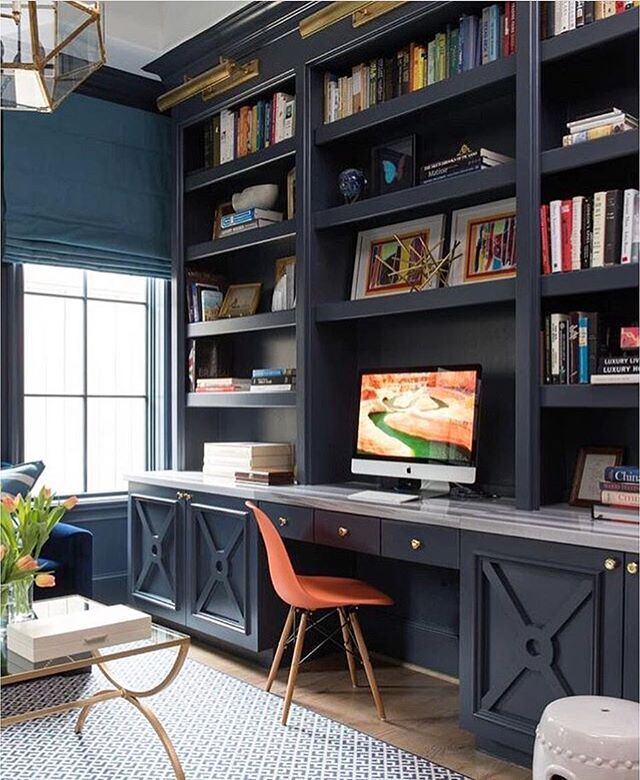 Amazing Office Desk With Bookcase A Home Office Like This Would Definitely Make Work Days Better