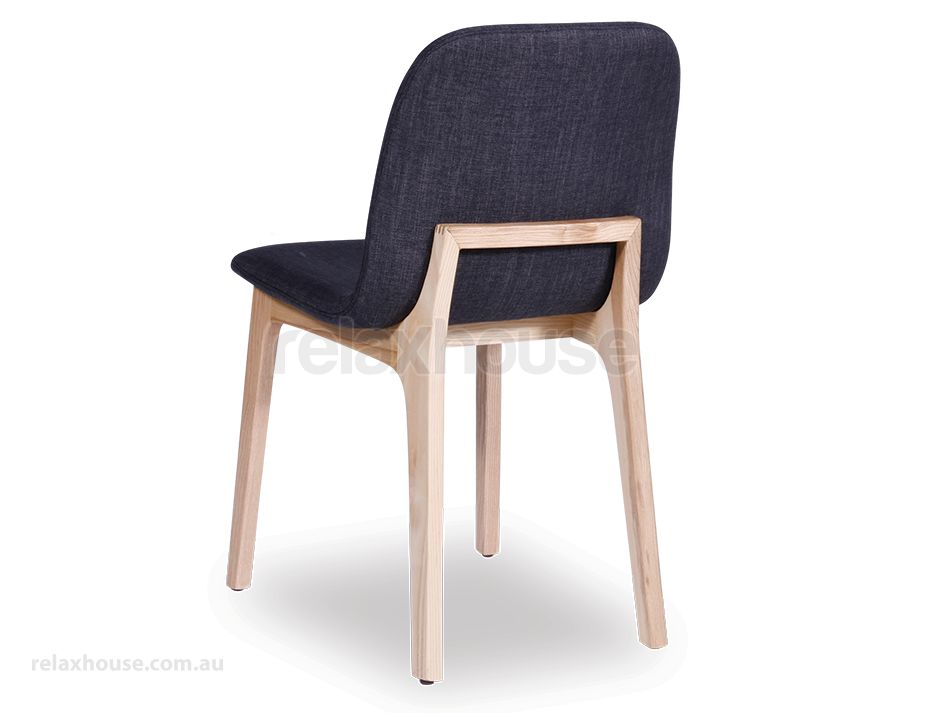 Amazing Padded Seat Dining Chairs Maxwell Scandinavian Timber Dining Chair Natural American Ash