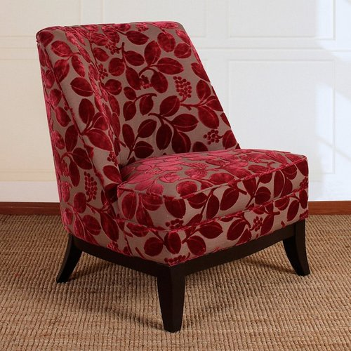 Amazing Red Accent Chair With Ottoman Red Accent Chair With Ottoman