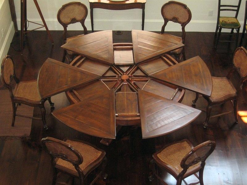 Amazing Round Dining Room Table With Leaf Round Dining Table Leaf Mitventuresco