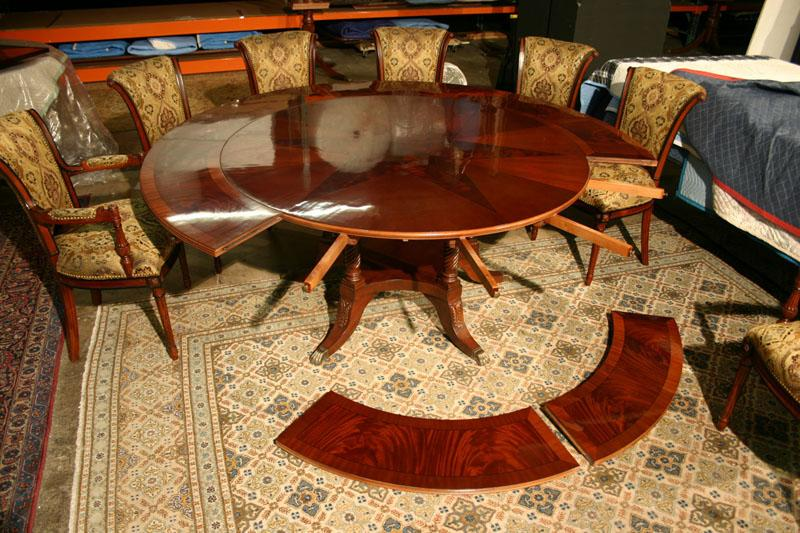 Amazing Round Table With Leaves Large Round Dining Room Table With Leaves Dining Room Decor
