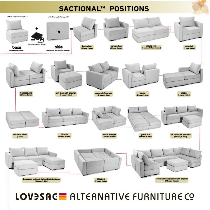 Amazing Sectional That Comes In Pieces Lovesac Coolest Piece Of Furniture It Comes Apart And You Can