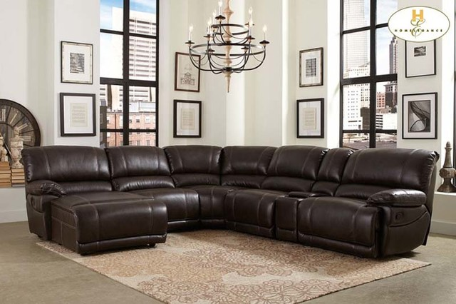 Amazing Sectional With Recliner And Chaise Lounge Sofa Beds Design Latest Trend Of Contemporary Leather Sectional