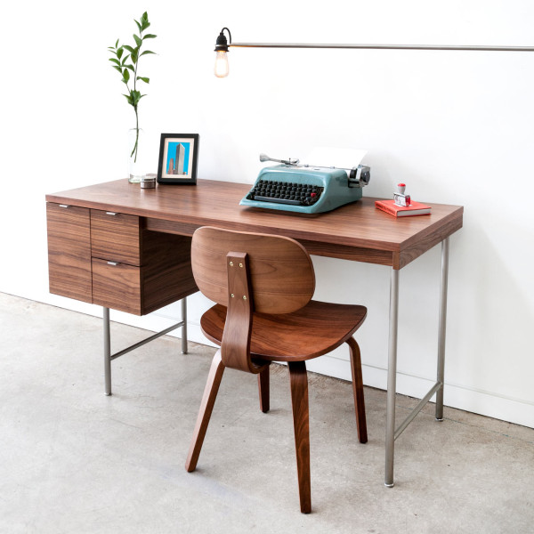 Amazing Simple Modern Desk Modern Desks From Gusmodern Design Milk