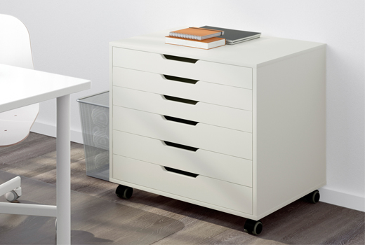Amazing Small Desk With Drawers Ikea Storage Drawers Ikea