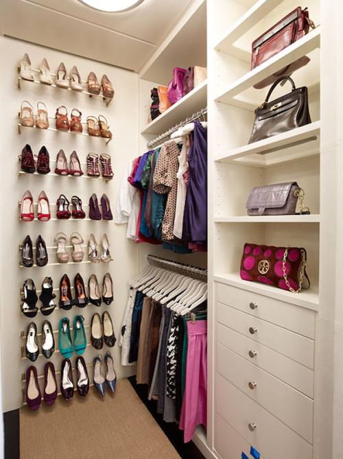 Amazing Small Walk In Closet Design 20 Incredible Small Walk In Closet Ideas Makeovers The Happy
