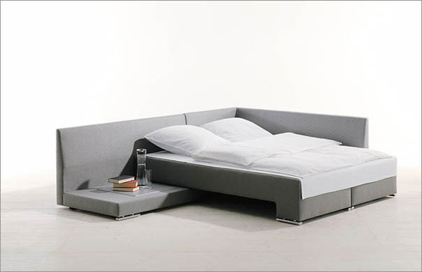 Amazing Sofa That Turns Into A Bed A Cool Method To Turn A Sofa Into A Bed Modern Art Movements To