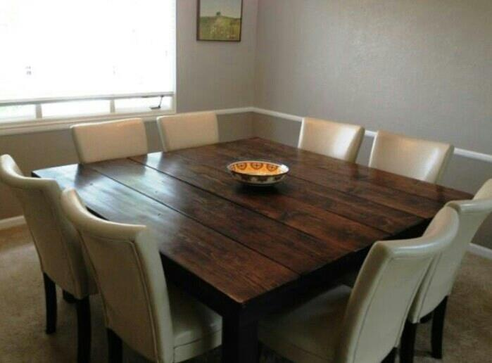 Amazing Square Dining Table For 8 Best 25 Square Dining Tables Ideas On Pinterest Square Dining