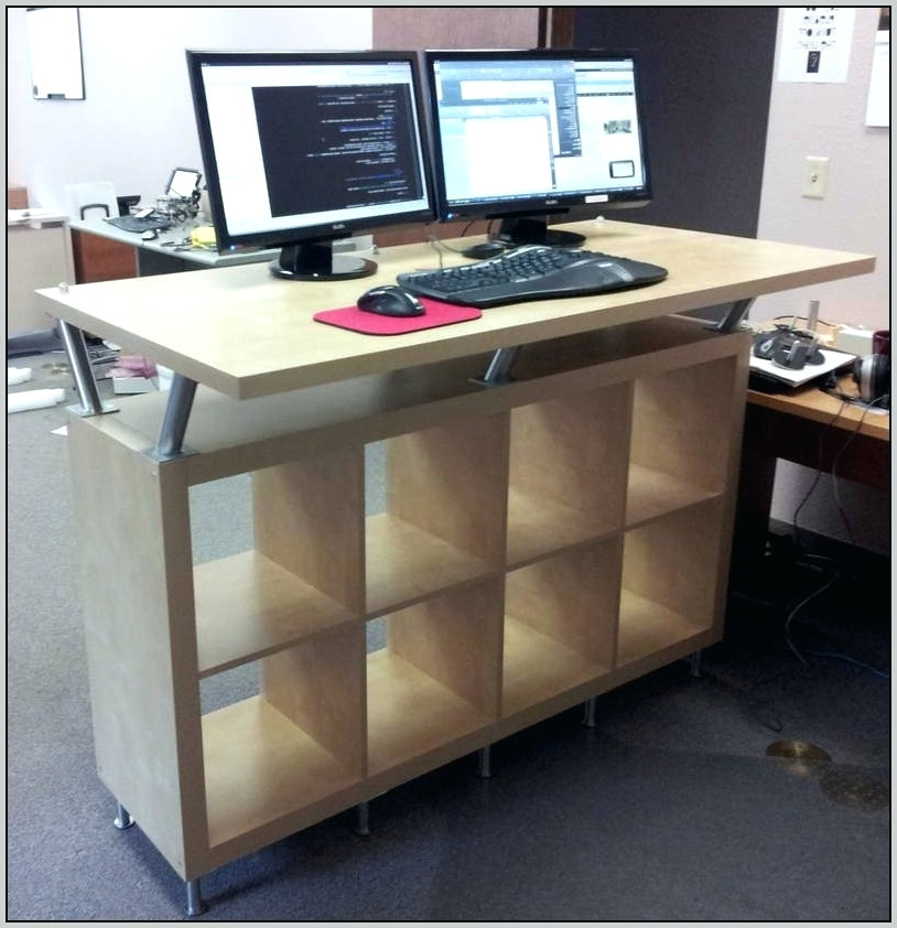 Amazing Stand Up Computer Desk Ikea Desk Small Standing Desk Adjustable Small Stand Up Computer Desk