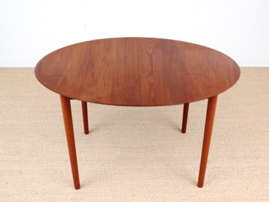 Amazing Teak Dining Table Danish Mid Century Modern Model 311 Solid Teak Dining Table