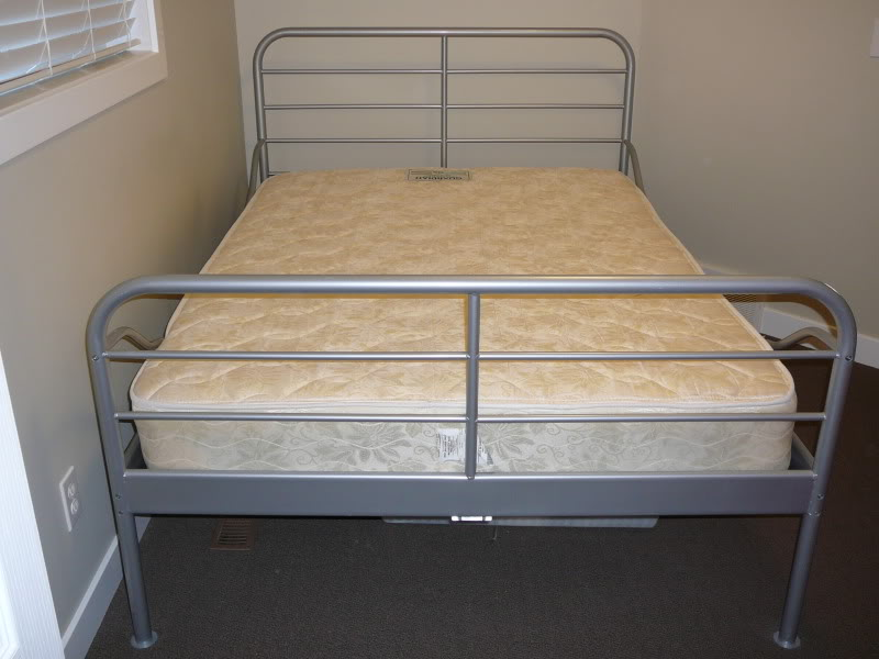 Amazing Twin Size Metal Bed Frame Ikea Ikea Silver Metal Frame Bed Beyond Car Forums Community Lentine