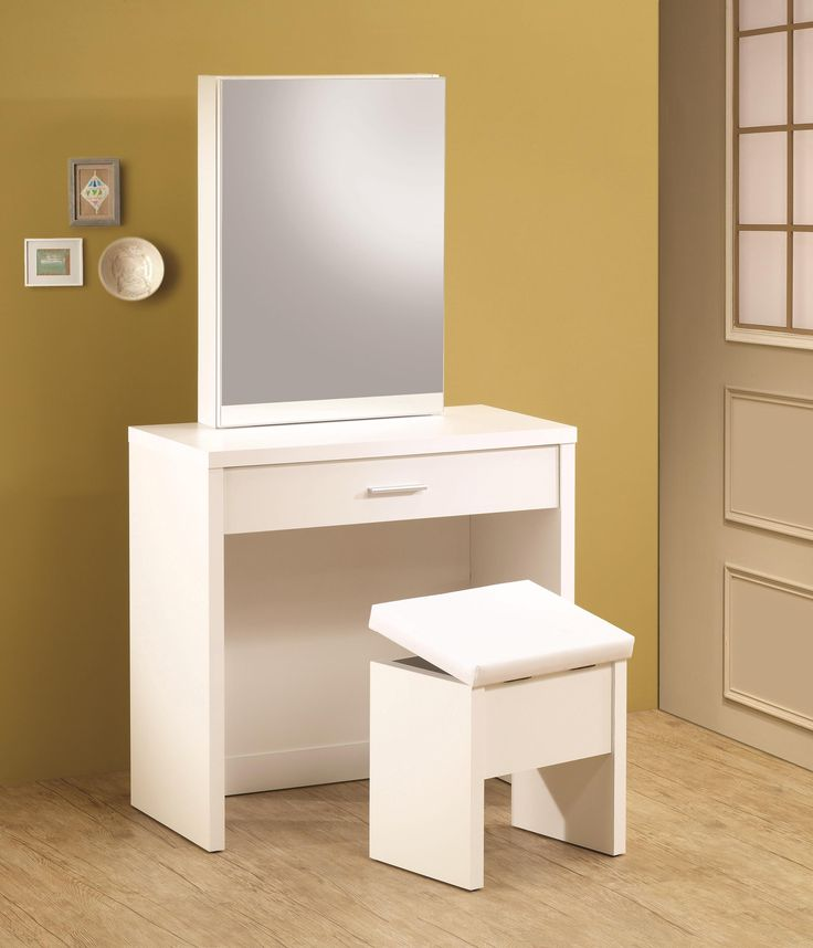 Amazing Vanity With Mirror And Stool 9 Best Dressing Table Comber Images On Pinterest Bath Vanities