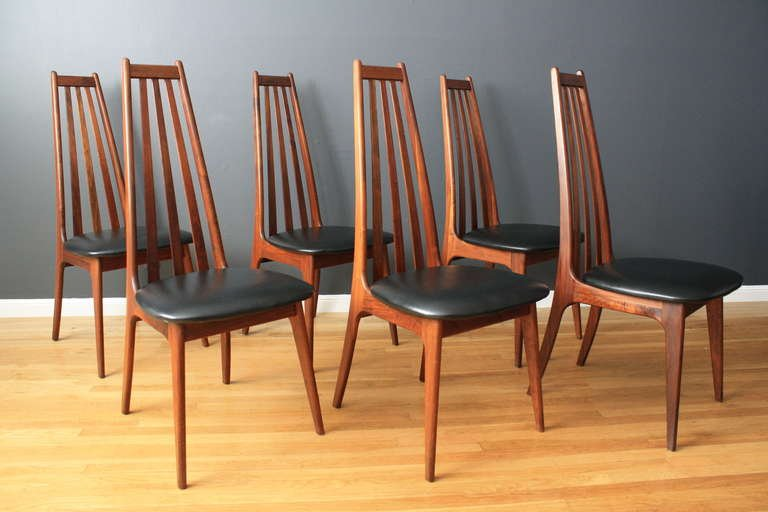 Amazing Vintage Dining Chairs Vintage Dining Table With Six Dining Chairs Adrian Pearsall At
