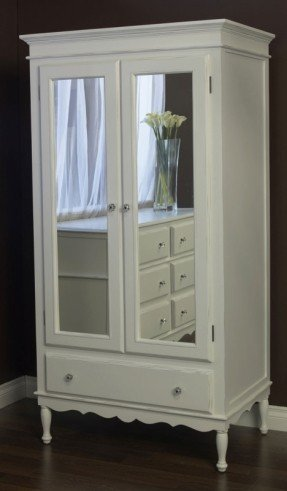 Amazing White Armoire With Drawers White Armoire With Drawers Foter