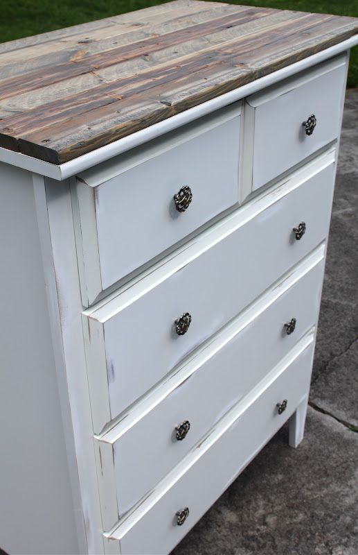 Amazing White Dresser With Brown Top Best 25 White Rustic Bedroom Ideas On Pinterest Rustic Wood