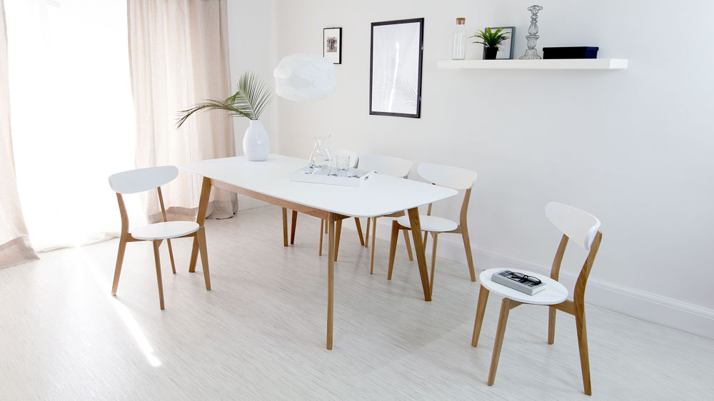 Amazing White Wooden Kitchen Chairs White Oak Kitchen Chairs Painted Wood Only 45 Uk