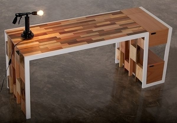 Amazing Wood Desk Designs Reclaimed Wood Office Desk Awesome Kitchen Exterior Reclaimed