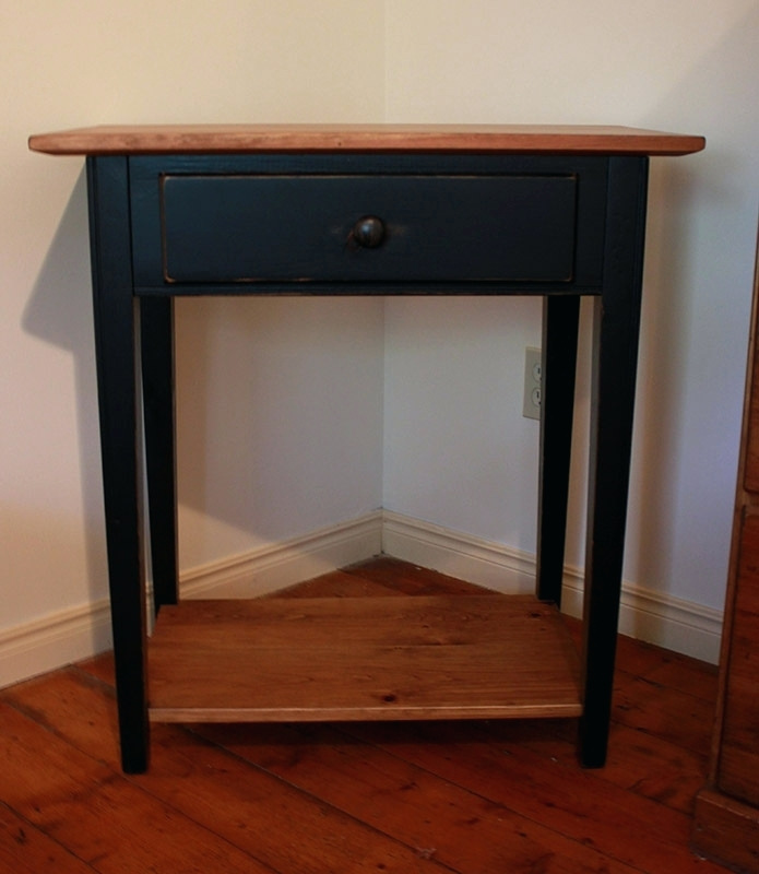 Attractive 24 Inch Bedside Table Side Table 30 Inch Tall Side Table Creative Bedside Tables