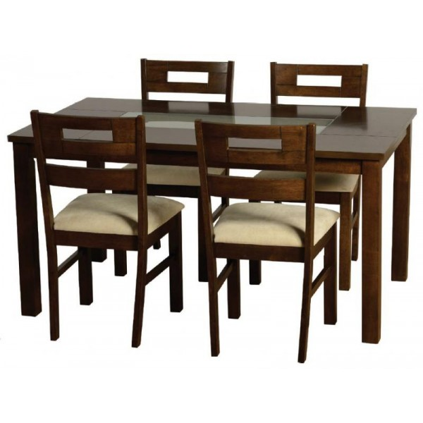 Attractive 4 Dining Chairs Chairs Astounding Black And White Dining Chairs Black And White